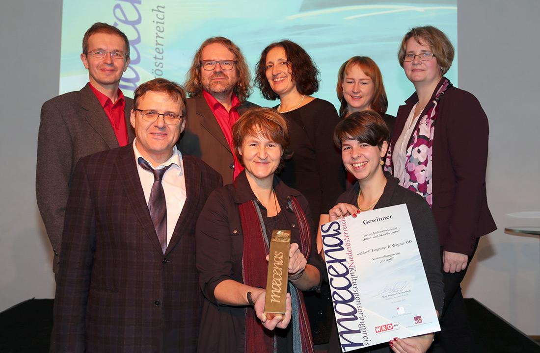 waldsoft gewinnt Maecenas Preis NÖ 2016