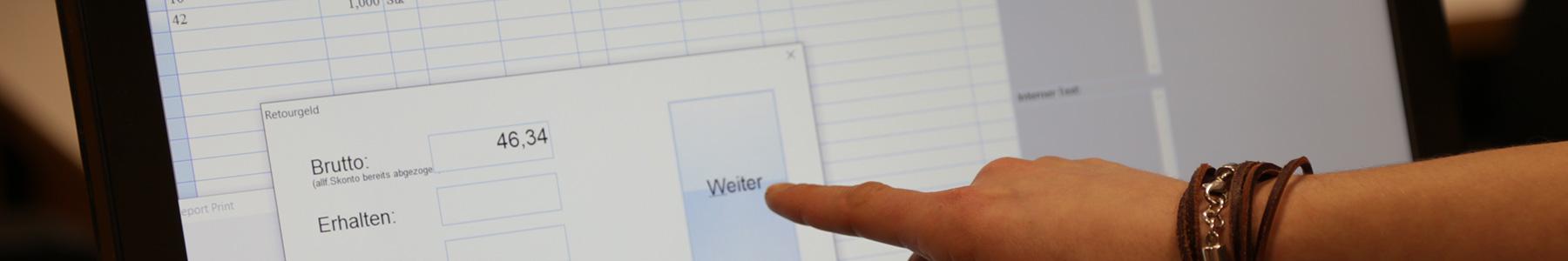 waldsoft Registrierkassenfunktion
