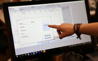 waldsoft Minifak mit Resgistrierkassenfunktion