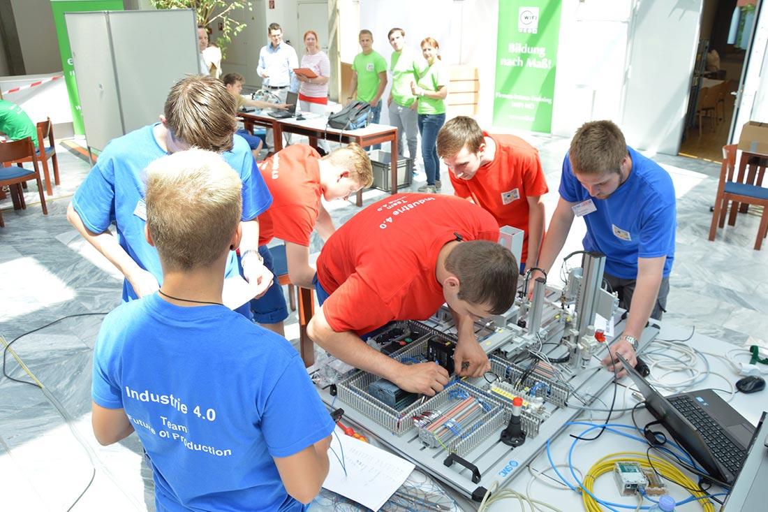 Lehrlingswettbewerb, Foto WKO Tanja Wagner