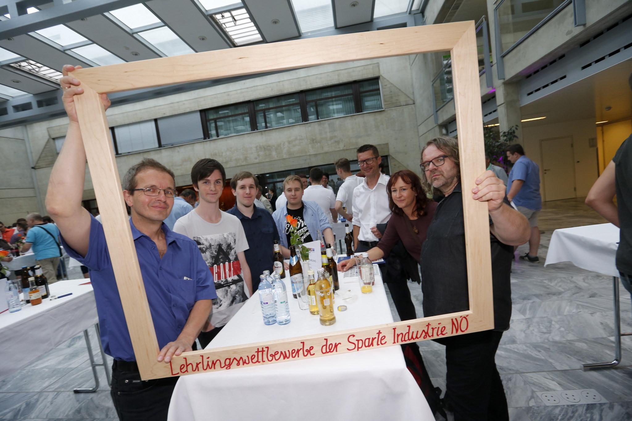 Lehrlingswettbewerb, Siegerehrung am 23.6.2017 in St. Pölten, Fa. waldsoft, Foto WKO Tanja Wagner