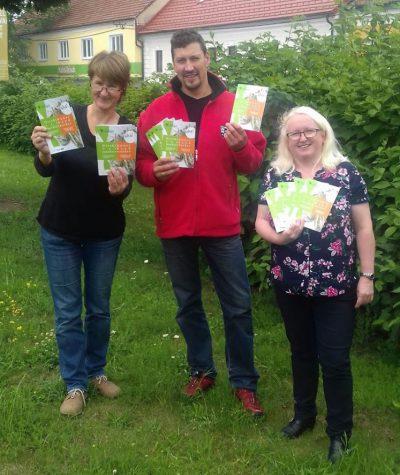 Projektteam: Roswitha Haghofer (rechts), GR Helmut Brandstetter, Christine Wagner/waldsoft