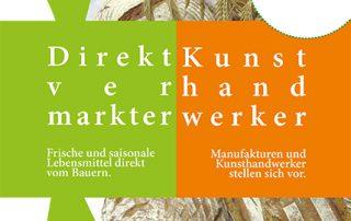 Broschüre Direktvermarkter & Kunsthandwerker, Cover
