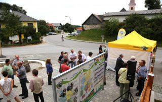 Jakobikirtag 29.7.2018 in Altmelon, Eröffnung Infoplattform