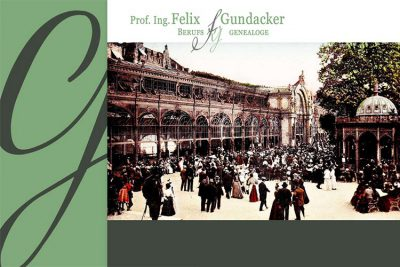 Prof. Felix Gundacker, Berufsgenealoge