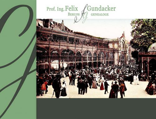 Website Prof. Gundacker Genealoge